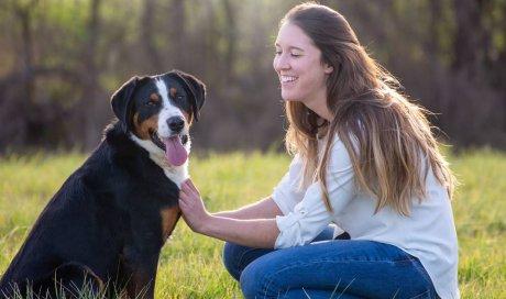 Reportage d'éducation canine à Chablis